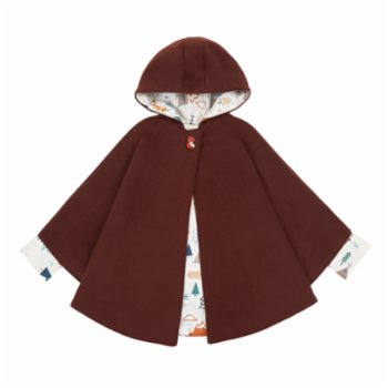Lally Things - Nature Fan Cachet Coat Poncho