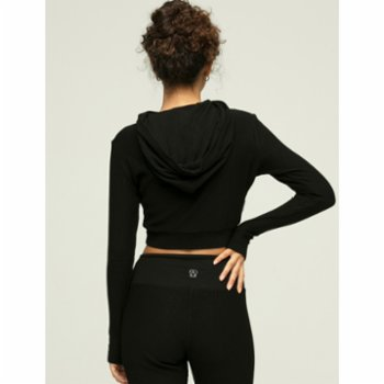 Ayma Active - Hooded Crop Sweat