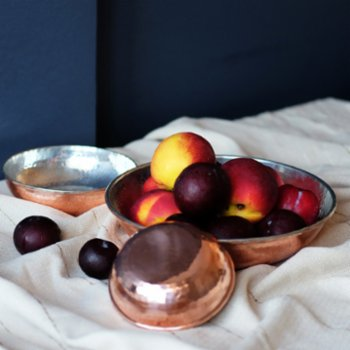 Urban Muse Home - SUN Tinned Glossy Copper Bowl