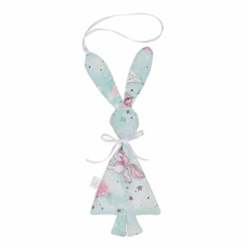 Lally Things - Unicorn Baby Sleep Buddy & Pacifier Holder