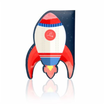 Cheerlabs - Sound Recording Greeting Card - Rocketship