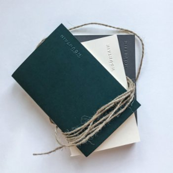 Paper Mountain - Set of 3 The Naked Mini Notebook