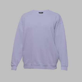 First Of All - Lilac Sweatshirt