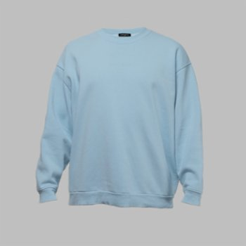 First Of All - Baby Blue Sweatshirt