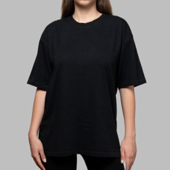 First Of All - Black Basic T-shirt