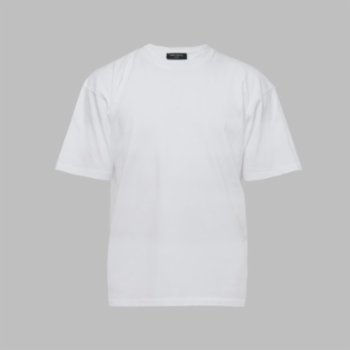 First Of All - White Basic T-shirt