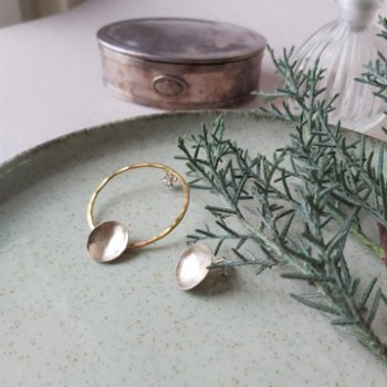 POJWoman by Pelin Özerson - Less and More Earrings