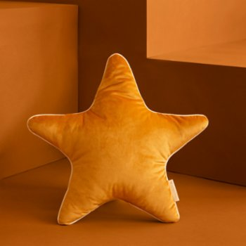 Nobodinoz - Aristote Star Velvet Cushion