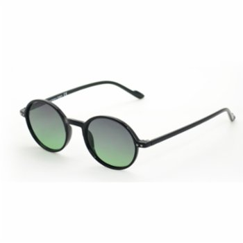 Looklight - Leon Black Unisex Sunglasses