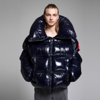 XUMU - Hardknud Remastered A Super Glossy Giant Puffer Coat