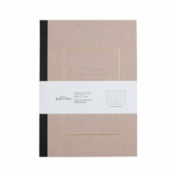 Studio Mottos - Dotted Hard Cover Notebook