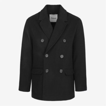 Faund - Double Breasted Wool Blend Jacket