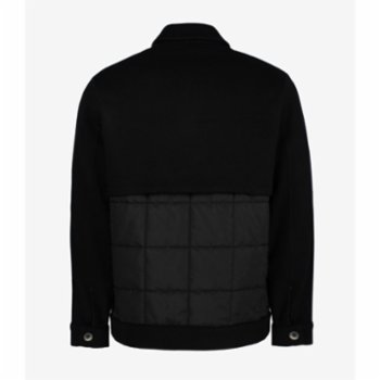 Faund - Quilted Jacket With Wool Blend Trim