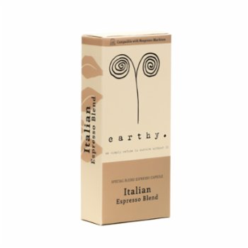 Earthy - Italian Blend Espresso Capsules  - Moderate Intensity