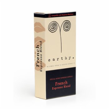Earthy - French Blend Espresso Capsules - High Intensity