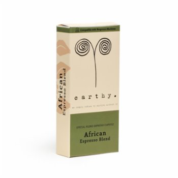 Earthy - African Blend Espresso Capsules - Low Intensity