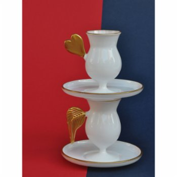 Martius - Heart Coffee Cup And Saucers
