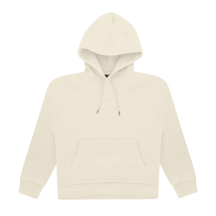Bassigue - Natural Dye Creme Oversize Hoodie