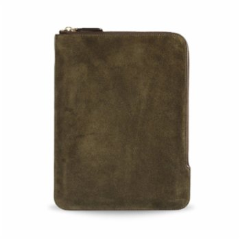 Bustha - Earth C Zip Folio Suede Sleeve For iPad Pro 11 Inch