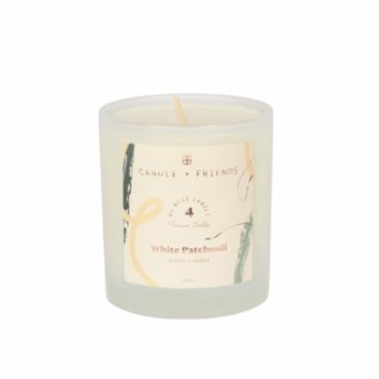 Candle and Friends - No.4 White Patchouli Small Mum
