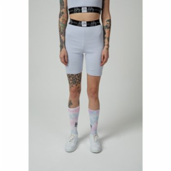 Fifty Pieces - Ribbed Biker Shorts