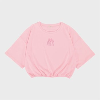 Fifty Pieces - Gathered Oversize T-shrt