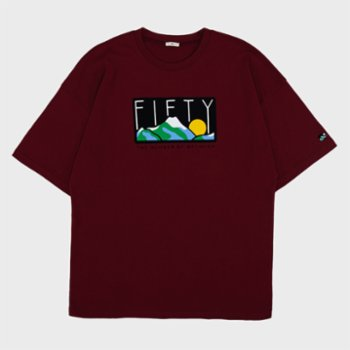 Fifty Pieces - Dropped Shoulder T-shirt - III