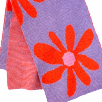 Pemy Store - Big Bloomed Lilac Scarf