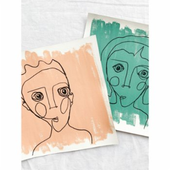 Diy and Green - Canvas Line Series - XX