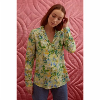Yaka Studio - Ain't Enough Flowers! - Notched Shirt