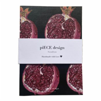 Piece Design London - Pomegranate Notebook