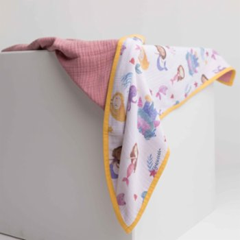 Bebe Bellota - Marmaid 6 Layer Organic Baby Muslin Quilt