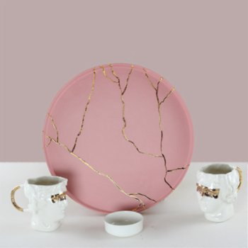 Magie Design - Kintsugi Sculpture Turkish coffee & Espresso Set