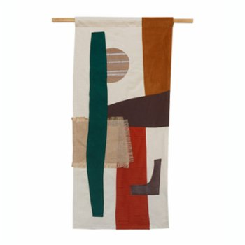 The Mona Studio - Patchwork Tapestry Wall Decor