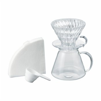 Hario - V60 02 Glass Brewing Set