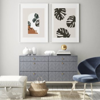 Atelier I 2n - Abstract Boho Poster No.10