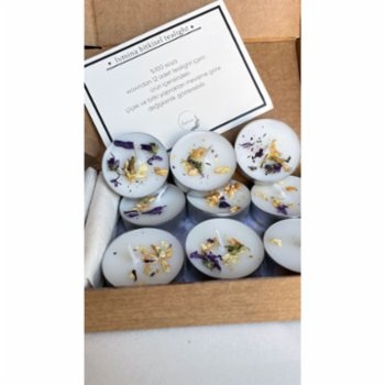 Lumina Candles - Lumina 12-Piece Oleaster Flower Scented Candle