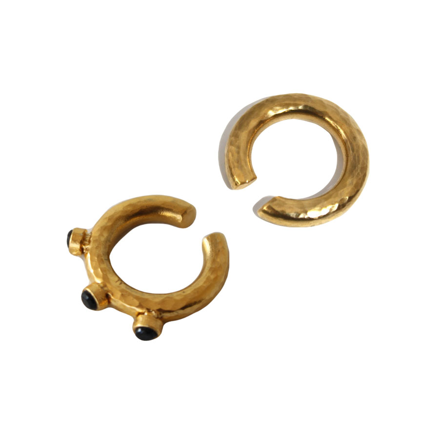 10dita - Stones Double Earcuff Earrings