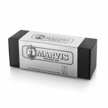 Marvis - Whitening Toothpaste And Holder Set