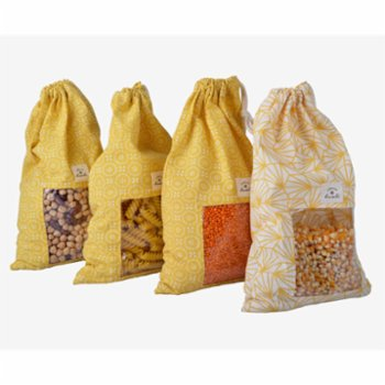 Huali - Cotton Storage Bag Set Of 2