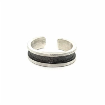 Spark Atölye - Two Color Silver Ring
