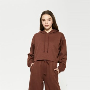Eoselio - Recycled Premium Quality Cropped Hoodie