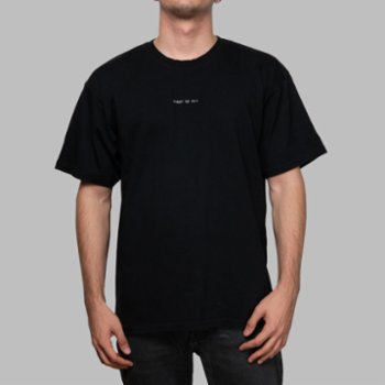 First Of All - Black First Of All T-shirt