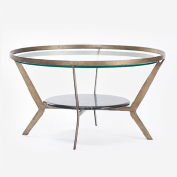 Estetik Decor - Juno Metal Cofee Table