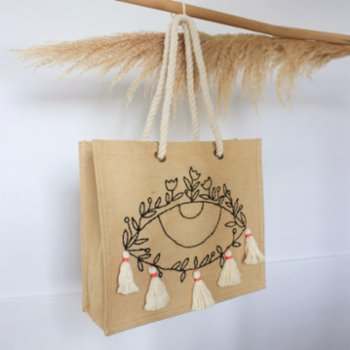 Ubeen - Straw Bag - I