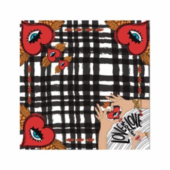 King Naked - Love More Love Scarf