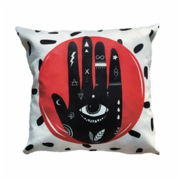 King Naked - High Five Cushion Case