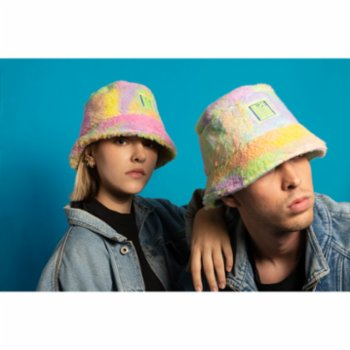 Mizestreetwear - Rainbow Fever Bucket Hat