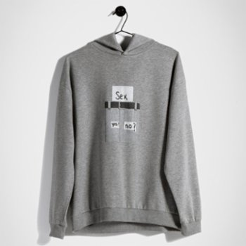 Assemblage Studios - Sex Yes No Unisex Hoodie - I
