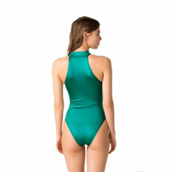 Movom - Isla High Neck Zipper Swimsuit